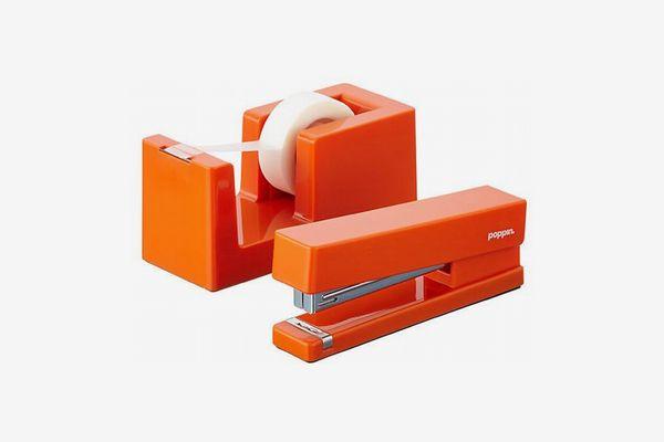 Poppin Tape Dispenser & Stapler