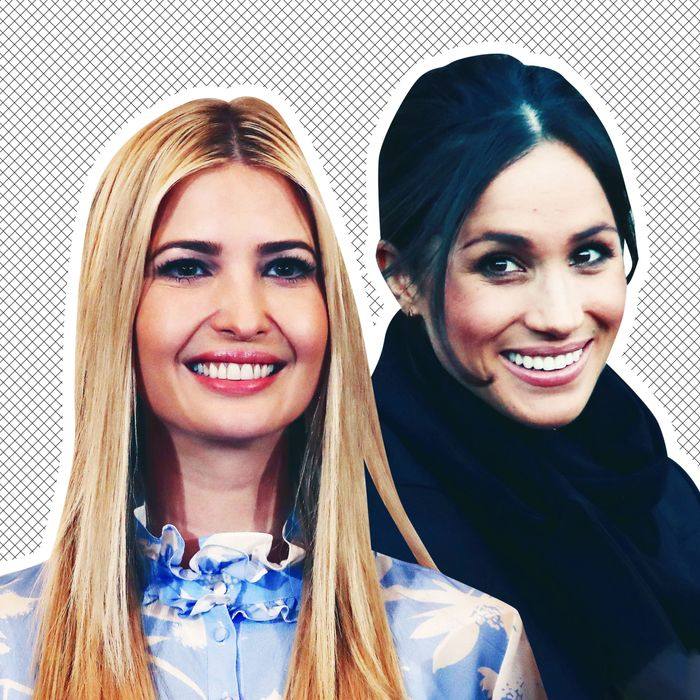 Ivanka Trump and Meghan Markle.