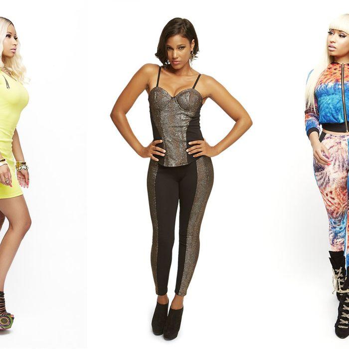 Nicki Minaj's Kmart line.