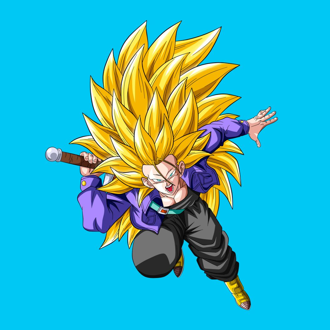 Dragon ball zs spiky hair quiz vulture trunks super saiyan 3 thecheapjerseys Image collections