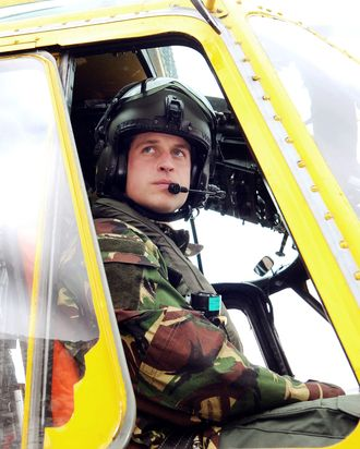 Prince William, a fellow with a job.