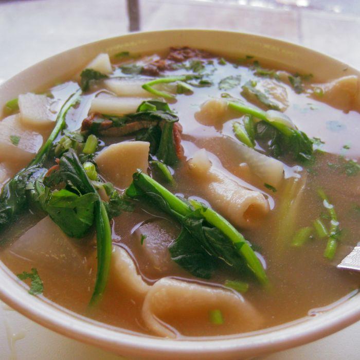 The thentuk from Tibetan restaurant Lali Guras.