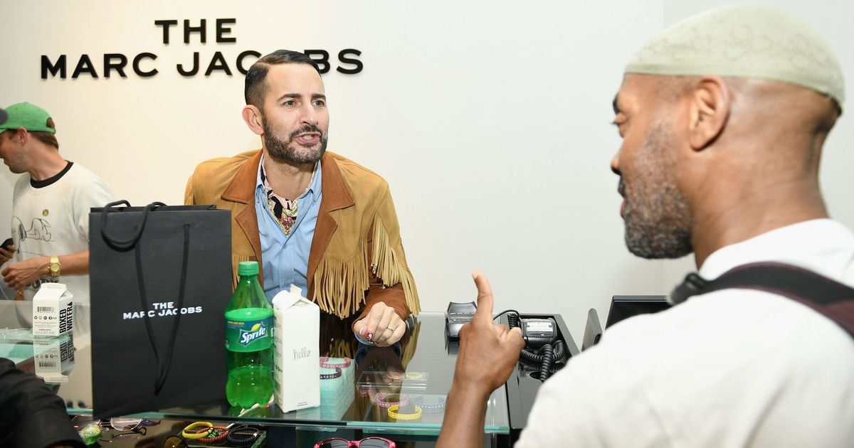 Marc Jacobs Plays Cashier at His Own Soho Block Party