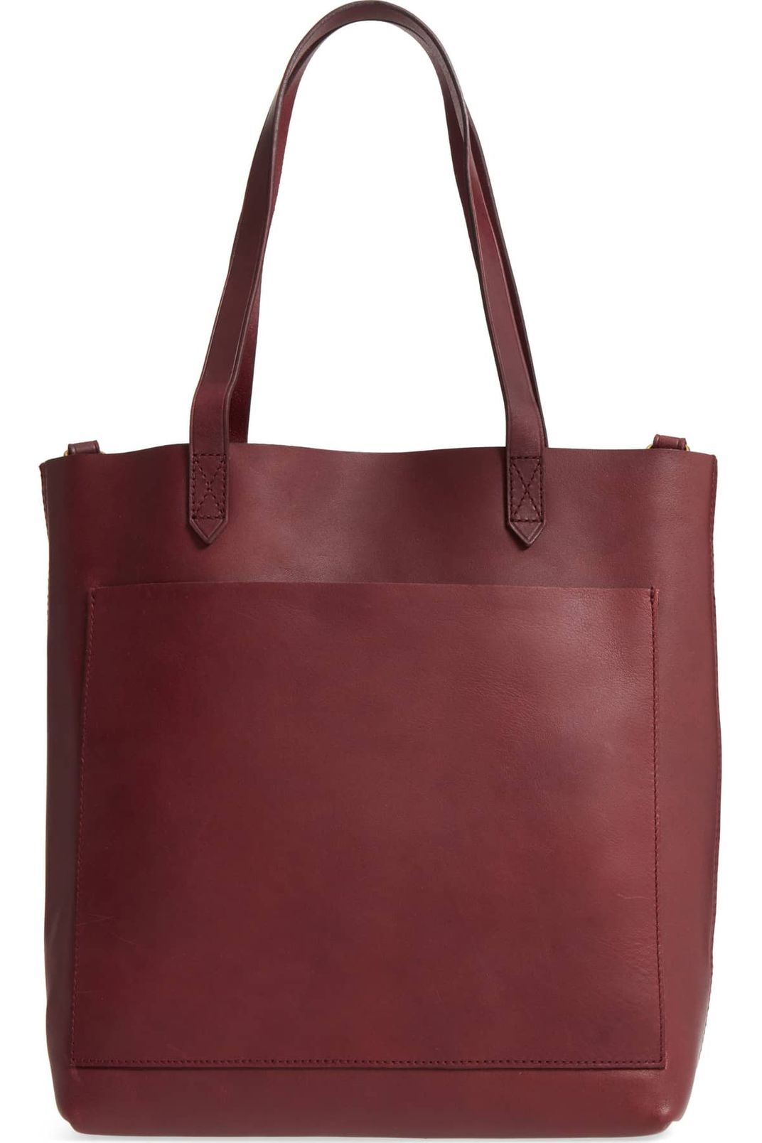 f453525271d3 Madewell Medium Leather Transport Tote