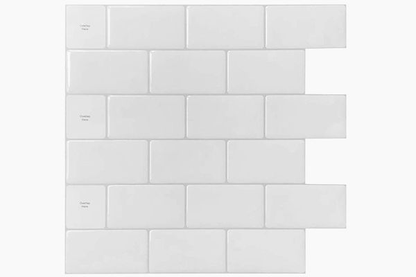 Peel-and-Stick Subway Tile