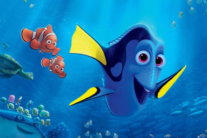 Why are finding nemo and finding dory such enormous hits for Immagini dory