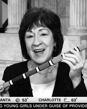 Republican senator Susan Collins of Maine.
