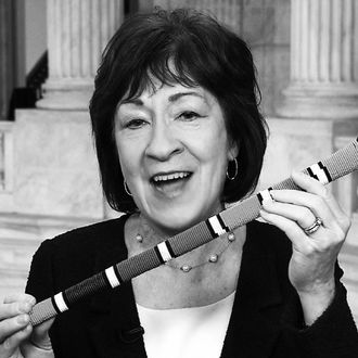 Republican senator Susan Collins of Maine.