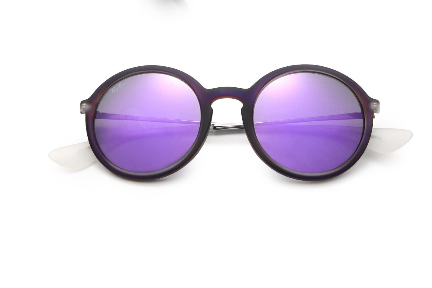 Ray-Ban Mirrored 50Mm Round Sunglasses