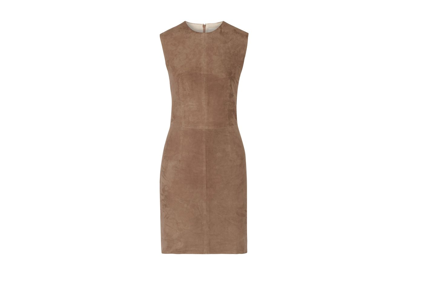 8 Suede Minidress