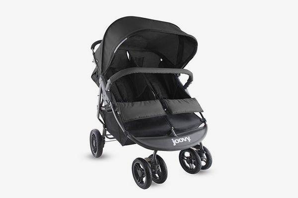 Joovy ScooterX2 Double Stroller, Black