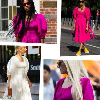 c114ebc5bcfe1 Most Popular NYFW Street Style Look: Rejina Pyo Greta Dress