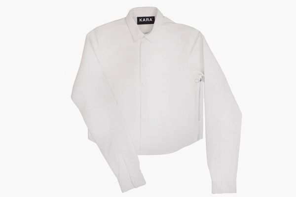 KARA White Shirt Bag
