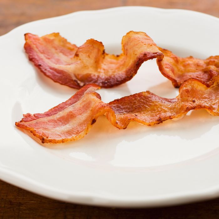 Beautiful bacon.