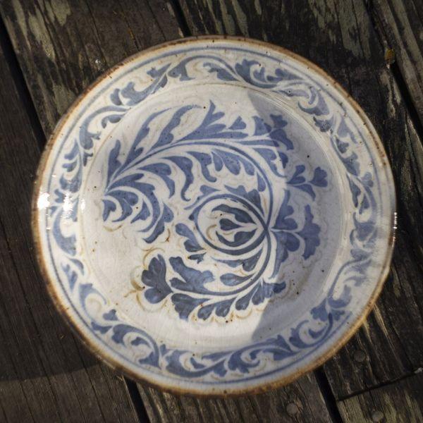 Turiya Gross Ceramics White Platter