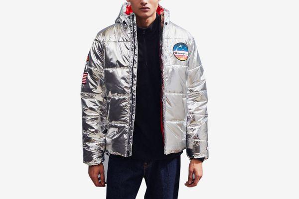 Champion Metallic Puffer Jacket