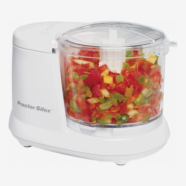 Proctor Silex Durable Mini 1.5 Cup Food Processor & Vegetable Chopper, White