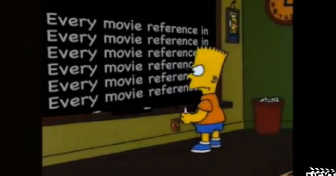 Watch A Supercut Of Every Movie Reference From The Simpsons First Five Seasons