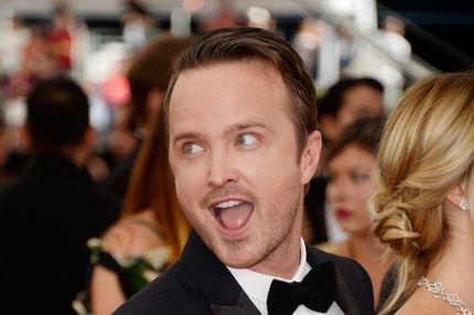 LOS ANGELES, CA - SEPTEMBER 22:  Actor Aaron Paul arrives at the 65th Annual Primetime Emmy Awards held at Nokia Theatre L.A. Live on September 22, 2013 in Los Angeles, California.  (Photo by Frazer Harrison/Getty Images)