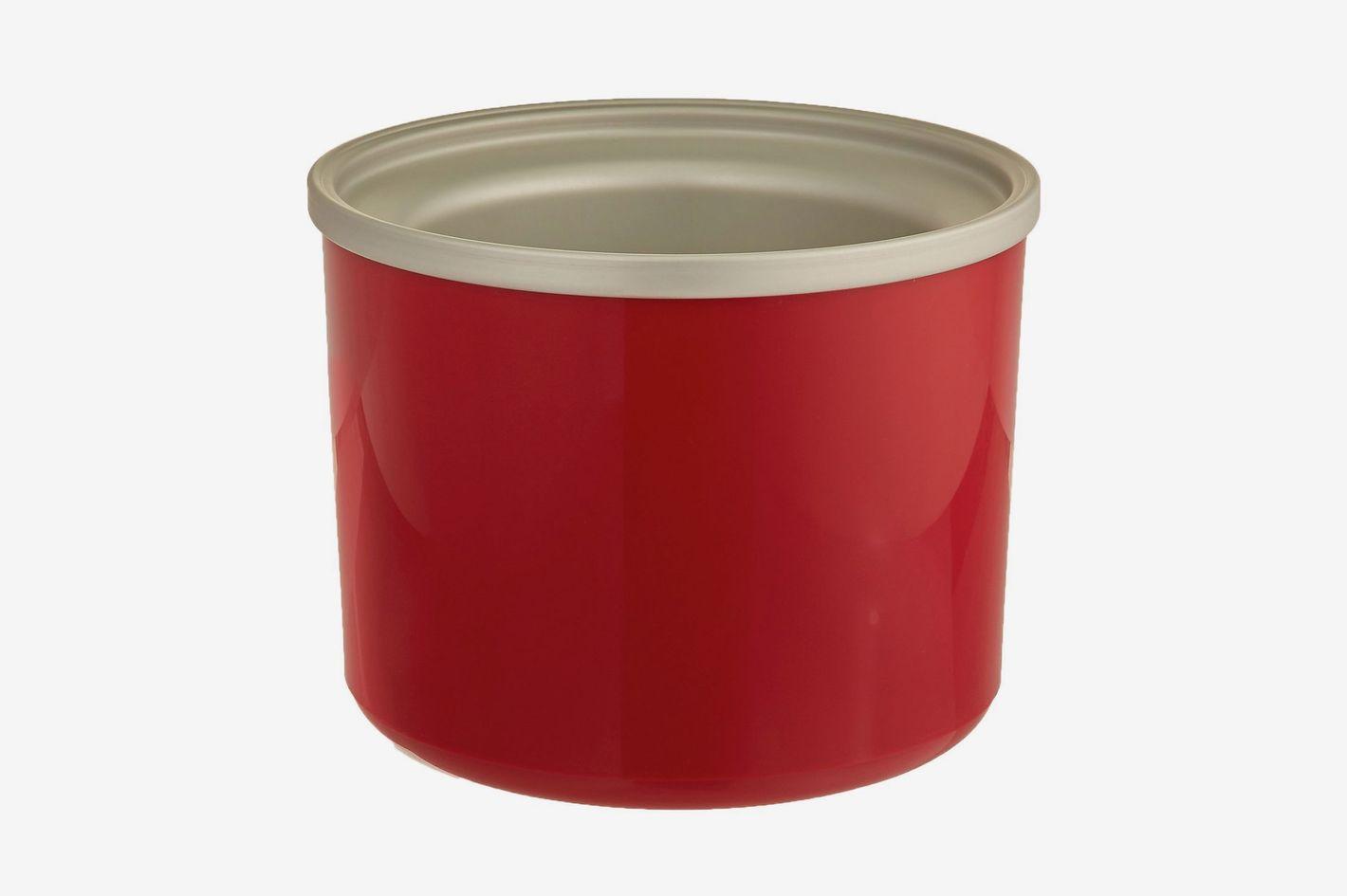 Cuisinart ICE-RFBR Replacement Freezer Bowl, 1-1/2-Quart Capacity, Red
