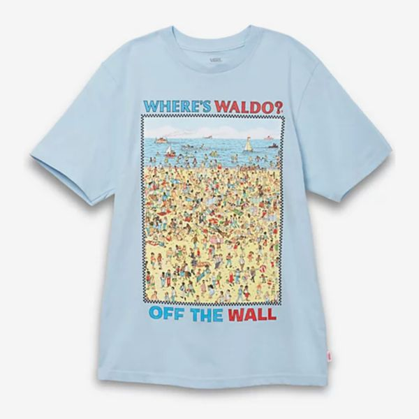 Vans x Where's Waldo? Boys Beach Shirt