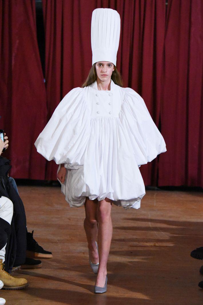 I found my perfect wedding dress at new york fashion week for My perfect wedding dress
