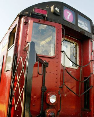 N.Y.C. Redbird Subway Train Makes Final Trip Before It Is Retired