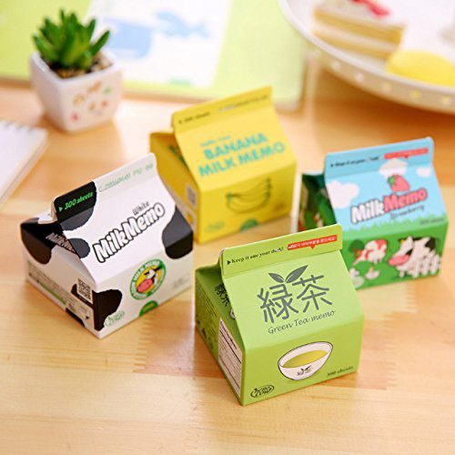 Milk Box Note Pads