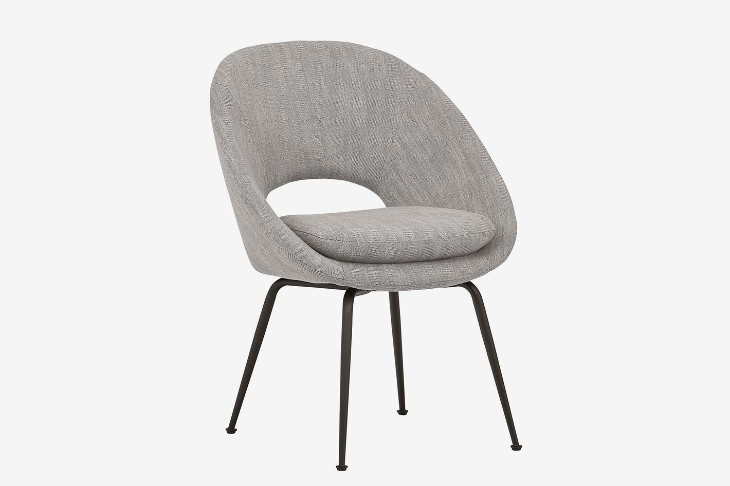 Rivet Modern Upholstered Orb Office Chair