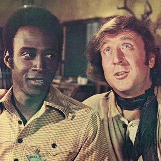Cleavon Little & Gene Wilder In 'Blazing Saddles