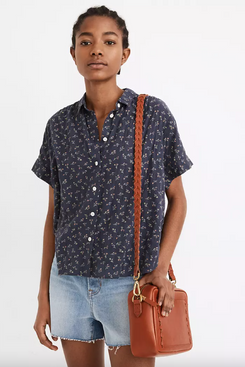Madewell Hilltop Shirt in Adorable Ditsy
