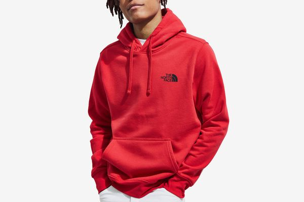 The North Face Red Box Logo Hoodie Sweatshirt