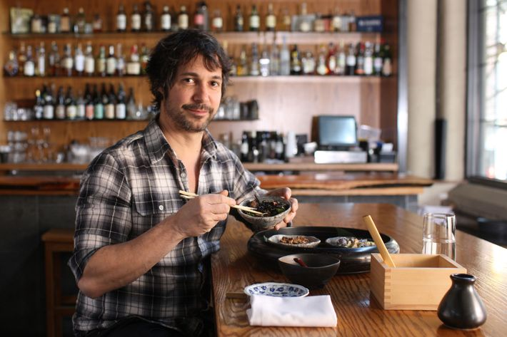 "Oringer frequents EN Japanese Brasserie — ""a little oasis."""