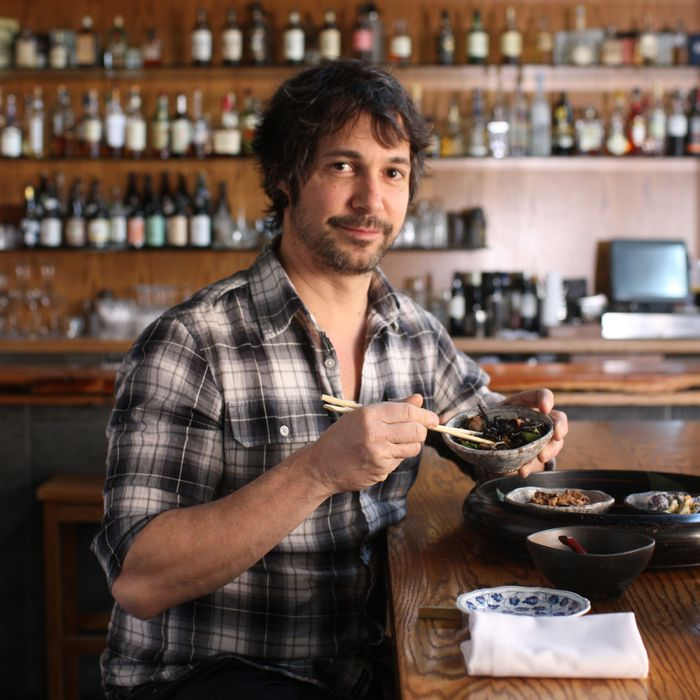 "Oringer frequents EN Japanese Brasserie — ""a little oasis."""
