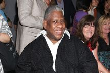 NEW YORK, NY - SEPTEMBER 09: Andre Leon Talley attends the Tracy Reese Spring 2013 fashion show during for TRESemme during Mercedes-Benz Fashion Week at The Studio at Lincoln Center on September 9, 2012 in New York City.  (Photo by Astrid Stawiarz/Getty Images for TRESemme)