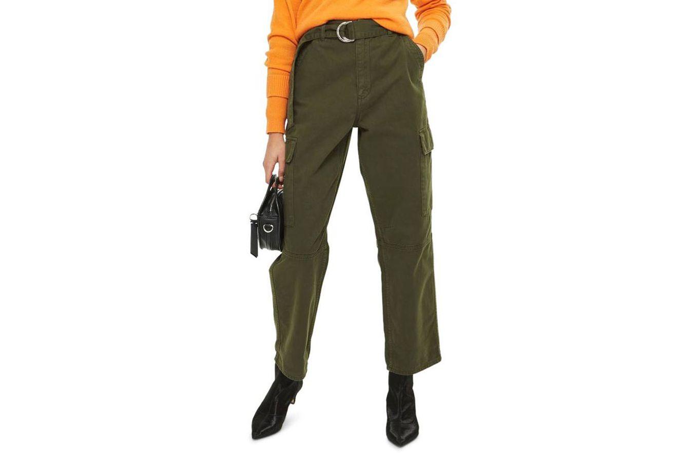 Topshop Combat Pocket Utility Trousers
