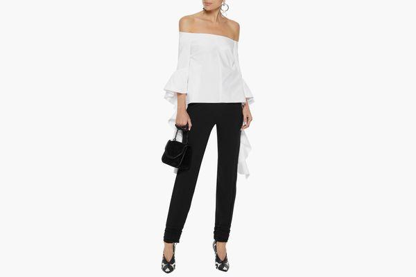 Ellery Off-the-shoulder Cotton Top