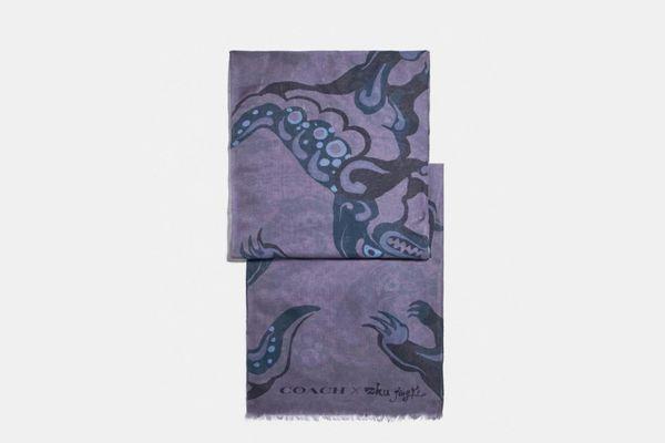 Signature Scarf By Zhu Jingyi