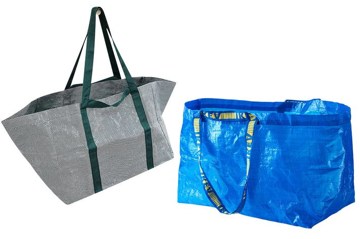 New Ikea bag vs. Old Ikea bag