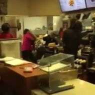 Exemplary McDonald's Employees Filmed Brawling Over Who Has to Cook the Apple Pies