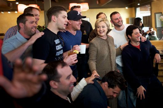 Black voters lead Clinton to resounding victory