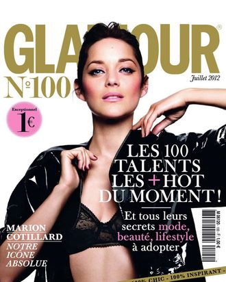 Marion Cotillard for French <em>Glamour</em>.