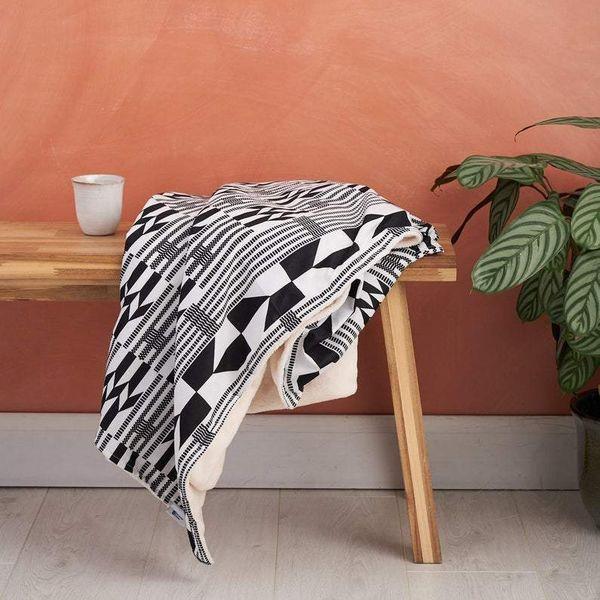 African-Print Kente Blanket