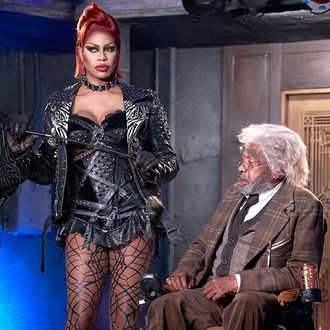 THE ROCKY HORROR PICTURE SHOW: L-R: Laverne Cox and Ben Vareen.