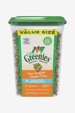 Greenies Feline Oven Roasted Chicken Flavor Adult Dental Cat Treats
