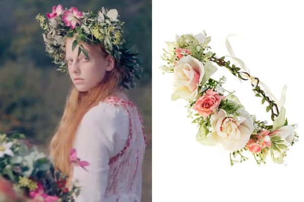 Vividsun Adjustable Flower Crown