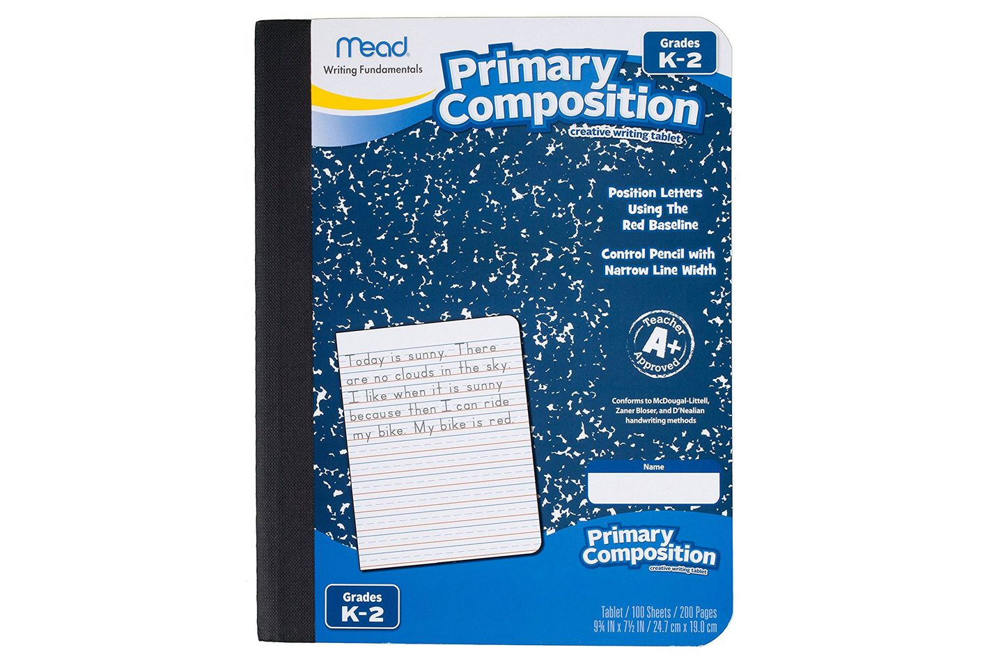 Mead Primary Composition Notebook