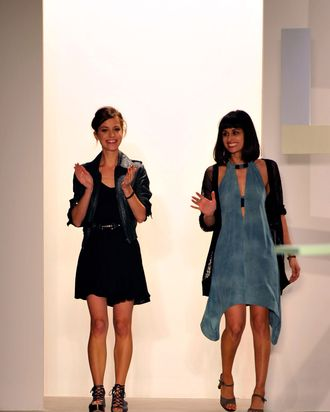 Vena Cava designers Lisa Mayock and Sophie Buhai.