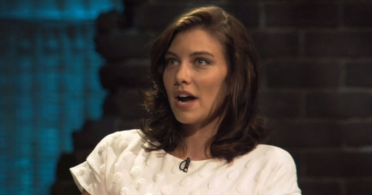 Lauren Cohan from The Walking Dead contemplated quitting over a particularly stressful scene.