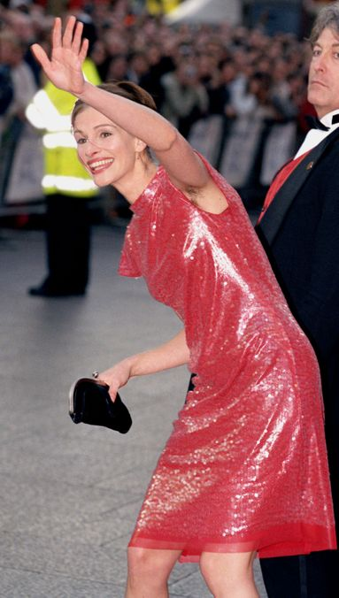 Julia Roberts 16 Amazing Women With Armpit Hair The Cut